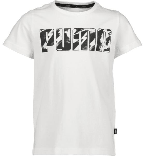 Puma So Ka Tee B Jr T-paidat & topit WHITE  - WHITE - Size: 128