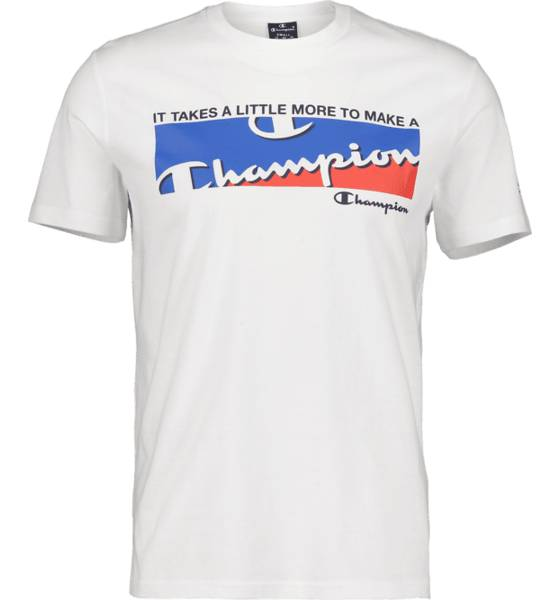 Image of Champion So Graphic Tee M T-paidat WHITE  - WHITE - Size: 2X-Large