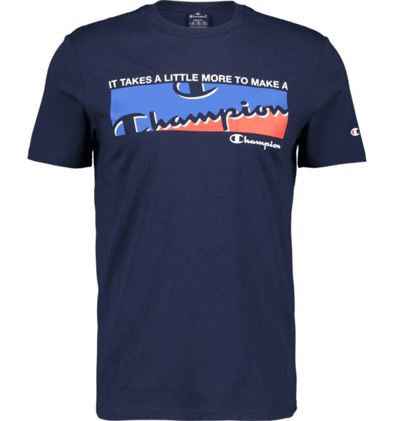 Image of Champion So Graphic Tee M T-paidat NAVY  - NAVY - Size: Extra Large