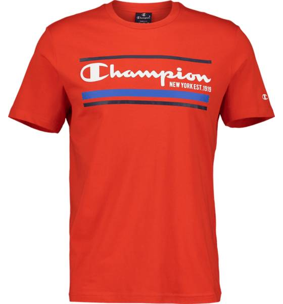 Image of Champion So Graphic Tee M T-paidat RED  - RED - Size: Medium