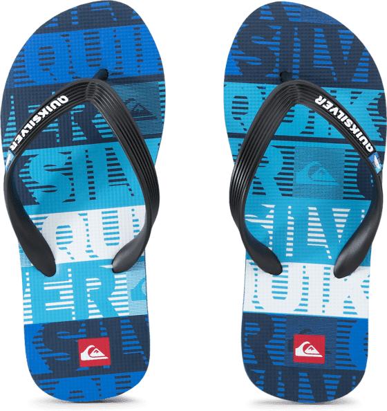 Quiksilver So Ds Molokai Jr Sandaalit BLACK/BLUE/BLUE  - BLACK/BLUE/BLUE - Size: 30