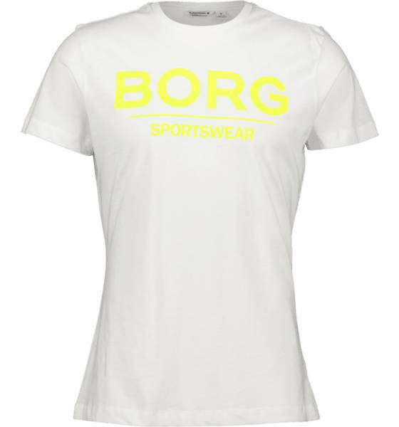 Image of Björn Borg So Samir Tee M T-paidat WHITE  - WHITE - Size: Small