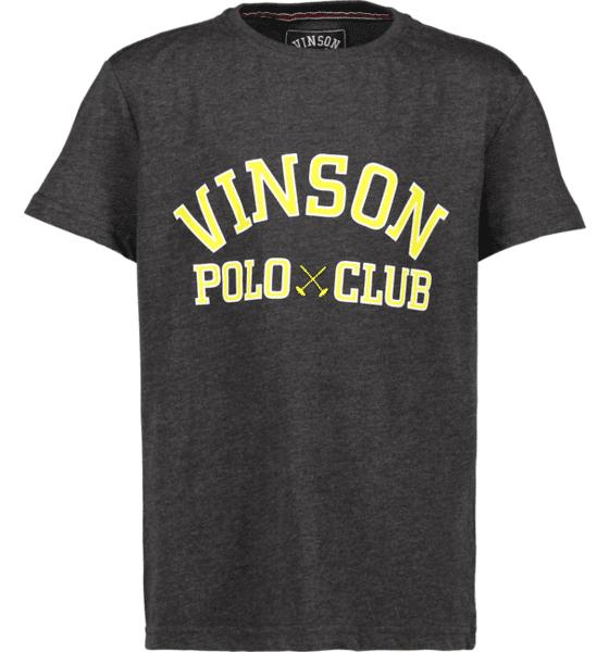Vinson Polo Club So Kim Tee Jr T-paidat & topit DARK GREY MEL  - DARK GREY MEL - Size: 130