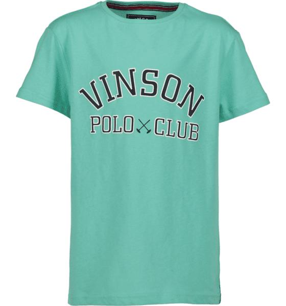 Vinson Polo Club So Kim Tee Jr T-paidat & topit BERMUDA TURQUISE  - BERMUDA TURQUISE - Size: 130