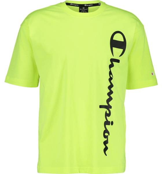 Image of Champion So Classic Fluo Tee M T-paidat YELLOW  - YELLOW - Size: 2X-Large