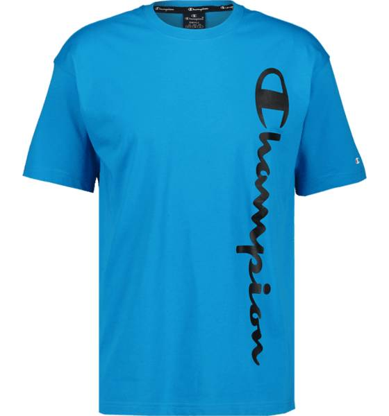 Champion So Classic Fluo Tee M T-paidat BLUE  - BLUE - Size: Small