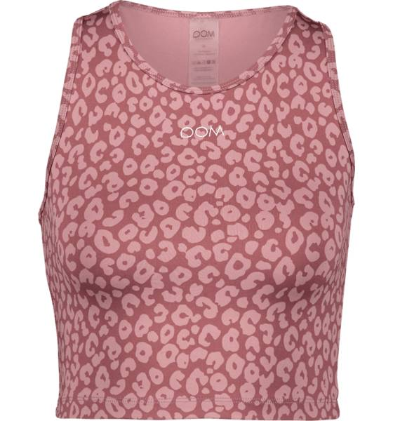 Image of Drop Of Mindfulness So Caren Top W Treeni BLUSH LEO  - BLUSH LEO - Size: Extra Large