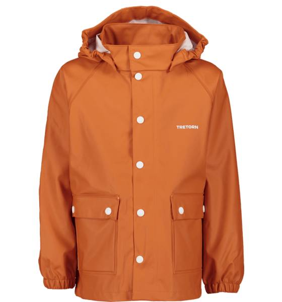 Tretorn So Wings Raincoat Jr Sadevaatteet CLASSIC ORANGE  - CLASSIC ORANGE - Size: 86