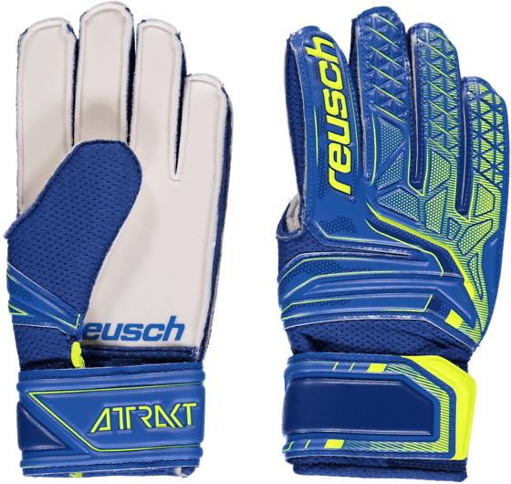 Reusch So Attrakt Sd Jr Jalkapallo BLUE/SAFETY YELLOW  - BLUE/SAFETY YELLOW - Size: 4