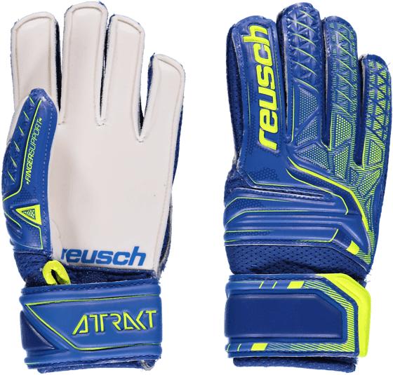 Reusch So Attrakt Open Fs Jr Jalkapallo BLUE/SAFETY YELLOW  - BLUE/SAFETY YELLOW - Size: 4