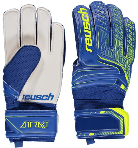Reusch So Attrakt Sd U Jalkapallo BLUE/SAFETY YELLOW  - BLUE/SAFETY YELLOW - Size: 8