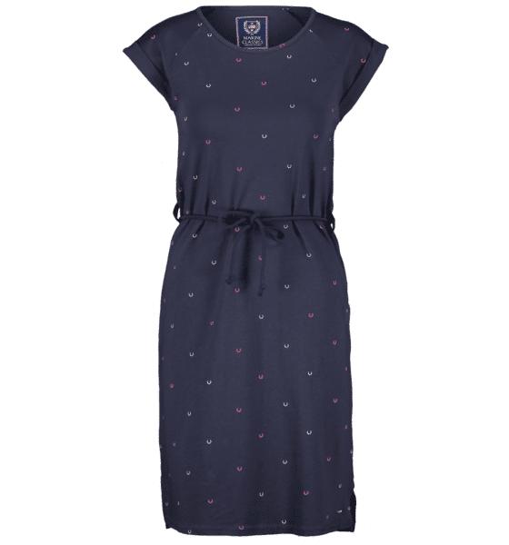 Marine Classics So Mary Jersey Dress W Mekot & hameet NAVY  - NAVY - Size: Small