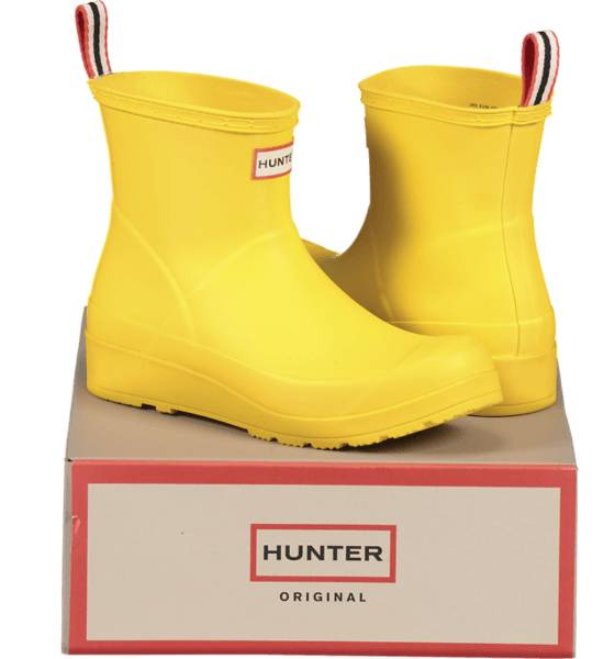 Hunter So Playboot Sh W Outdoor WADER YELLOW (Sizes: 39)
