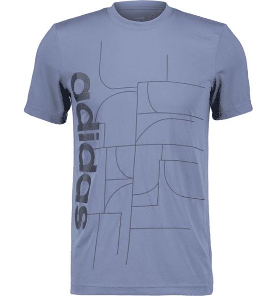 Image of Adidas So Mo Graph Tee M Treeni TEC INK/LEG INK  - TEC INK/LEG INK - Size: Large