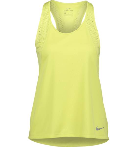 Image of Nike So Run Tank W Treeni LIMELIGHT  - LIMELIGHT - Size: Large