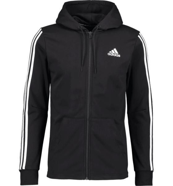 Image of Adidas So M 3s Fz Hood M Yläosat BLACK  - BLACK - Size: Small