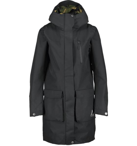 Wearcolour So Gust Parka W Takit BLACK  - BLACK - Size: Extra Small