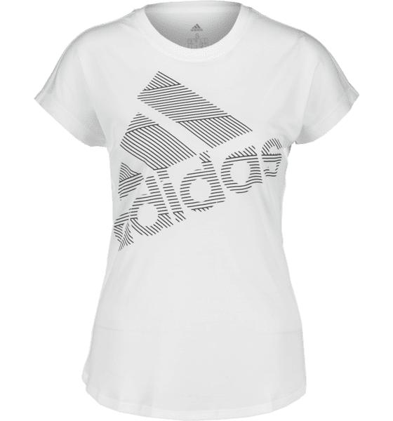 Image of Adidas So Bos Logo Tee W Treeni WHITE - WHITE - Size: Extra Small