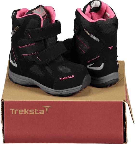 Image of Treksta So Power Gtx Jr Varsikengät & saappaat BLACK/PINK (Sizes: 25)