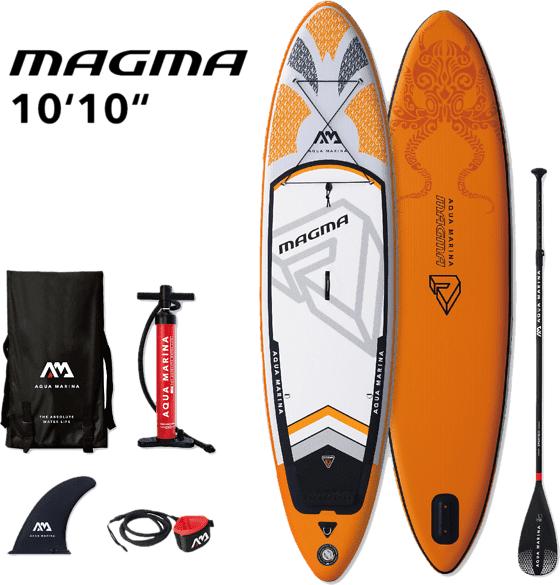 Aqua Marina So Magma Adv Sup Pihapelit ORANGE  - ORANGE - Size: One Size