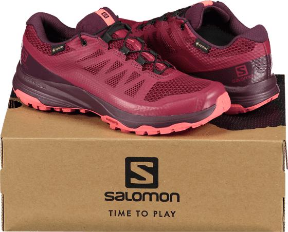 Salomon So Xa Discov Gtx W Outdoor BEET RED/POTENT PU  - BEET RED/POTENT PU - Size: UK 3.5