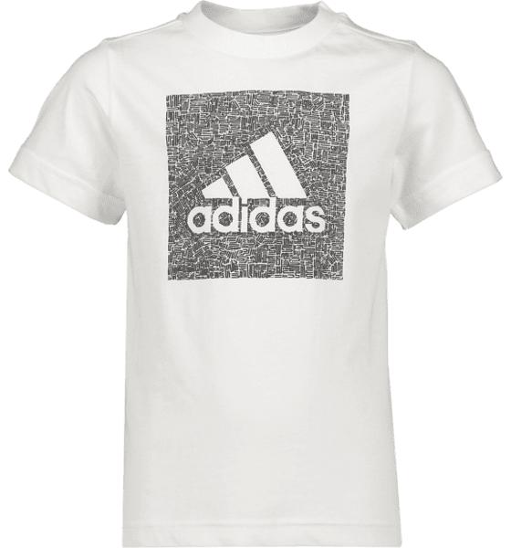 Adidas Mh Bos Box Tee B Jr Treeni WHITE  - WHITE - Size: 116