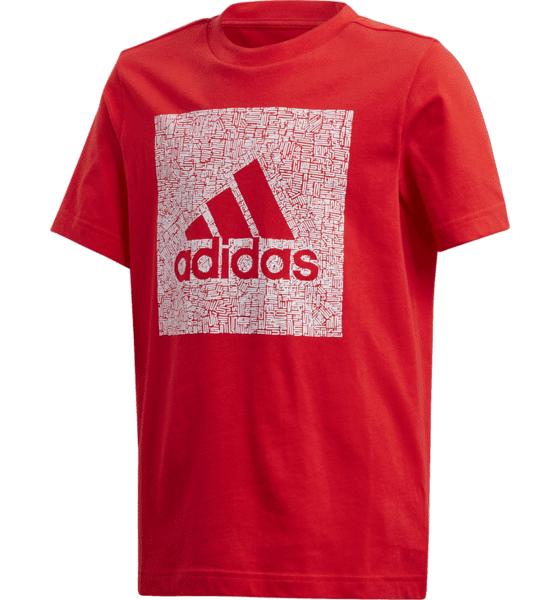 Adidas Mh Bos Box Tee B Jr Treeni VIVID RED  - VIVID RED - Size: 116