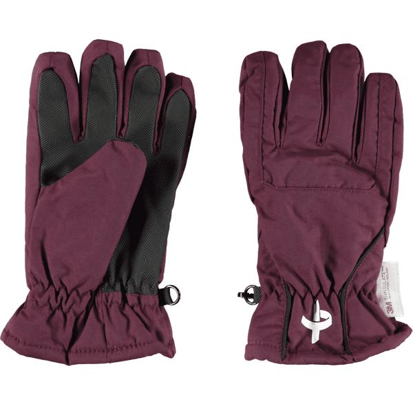 Image of Cross Sportswear So Winter Glove Jr Juoksu GRAPE WINE (Sizes: 3)