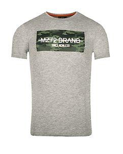 MZ72 Brand PEAK T-PAITA - Harmaa