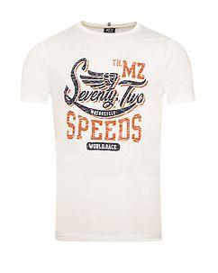 MZ72 Brand THE RACE T-PAITA - Luonnonvalkoinen