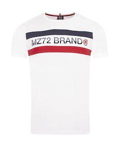 MZ72 Brand THE LINE T-PAITA - Valkoinen