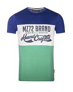 MZ72 Brand TARA T-PAITA - Sininen