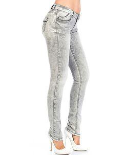 Cipo & Baxx Ladies Allyn Jeans Grey