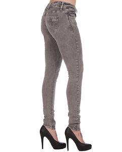 Cipo & Baxx Ladies Isabelle Jeans Grey