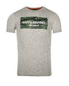 MZ72 Brand The Peak T-Shirt Grey Melange