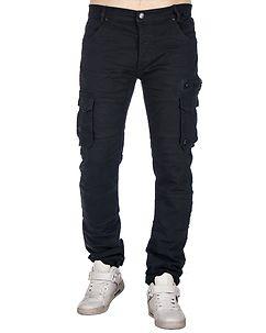 MZ72 Brand Etna Cargo Pants Dark Blue