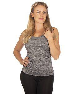 Disturb Clothing Star Athletic Top Grey Melange