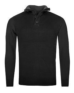 MZ72 Brand Safy Knit Black