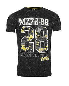 MZ72 Brand The Check T-Shirt Black
