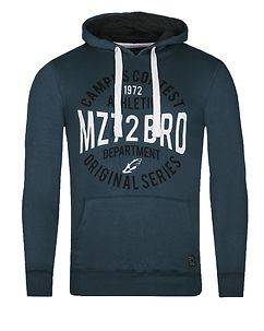 MZ72 Brand Jondas Hoodie Denim Blue