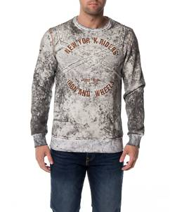 Cipo & Baxx CL232 Sweater Grey Melange