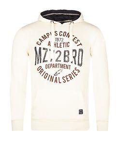MZ72 Brand Jondas Hoodie Off White