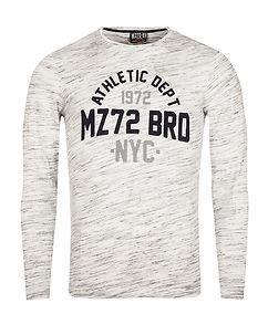 MZ72 Brand The Bright Longsleeve White Melange