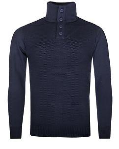 MZ72 Brand Safy Knit Navy Blue