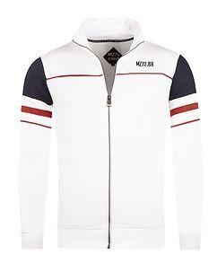 MZ72 Brand Jakes Sweater White