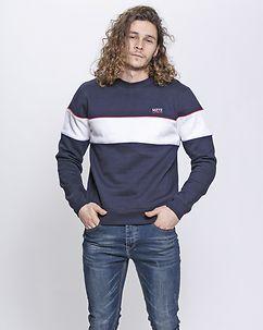 MZ72 Brand Joy Sweatshirt Navy Blue