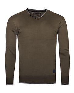 MZ72 Brand Soft V-Neck Knit Brown