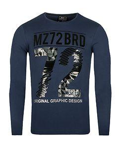 MZ72 Brand The Winter Longsleeve Blue