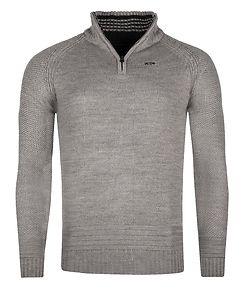 MZ72 Brand Secure Knit Light Grey Melange