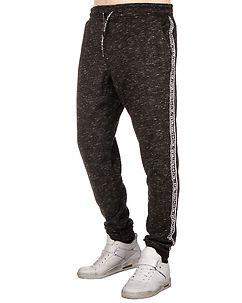 MZ72 Brand Jigger Sweatpants Black Melange